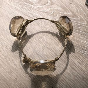 Bourbon and Boweties gold bangle